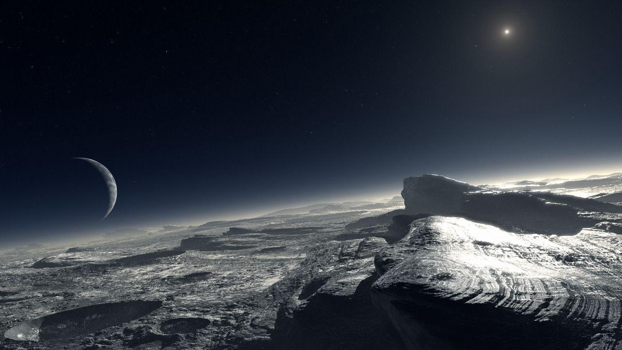 Wallpaper pluto, planet, dwarf planet, trans-neptunian objects, news