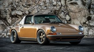 Preview wallpaper porsche, 911, singer, side view