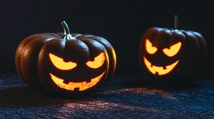 Halloween Pumpkin Wallpaper Hd.Pumpkin Full Hd Hdtv Fhd 1080p Wallpapers Hd Desktop