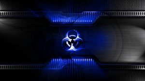 Preview wallpaper radiation, light, sign, symbol, metal