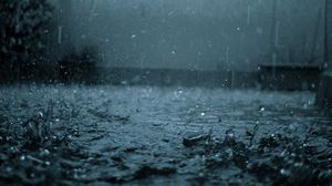 Preview wallpaper rain, drops, splashes, heavy rain, dullness, bad weather