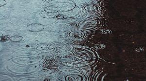 Preview wallpaper rain, drops, spray, circles