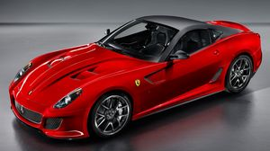 Preview wallpaper red, car, sporty, ride, ferrari