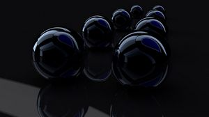 Preview wallpaper rendering, render, black, reflection