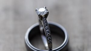 Preview wallpaper rings, love, couple, wedding, jewels, decorations