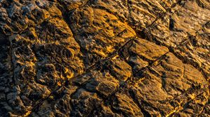 Preview wallpaper rock, stone, surface, texture, brown