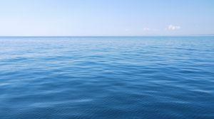 Preview wallpaper sea, water, waves, horizon