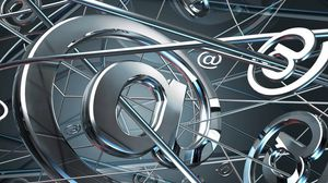 Preview wallpaper silver, signs, internet, symbol