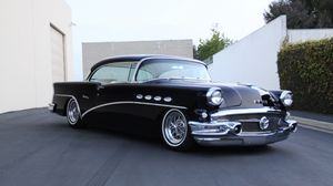Preview wallpaper 1956 buick century, vintage, cars, side view