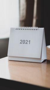Preview wallpaper 2021, year, calendar