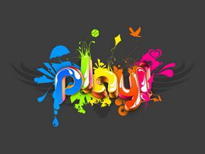 Preview wallpaper abstraction, game, color, flowers