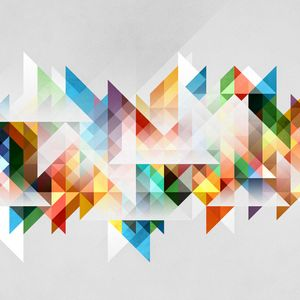 Preview wallpaper abstraction, geometry, shapes, colors