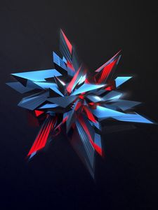 Preview wallpaper abstraction, sharp, figure