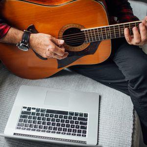 Preview wallpaper acoustic guitar, guitar, guitarist, music
