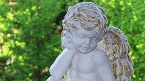 Preview wallpaper angel, figurine, harmony