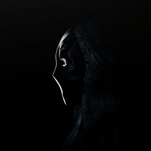Preview wallpaper anonymous, mask, profile, dark
