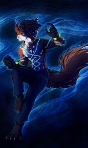 Preview wallpaper anthro, foxes, comics
