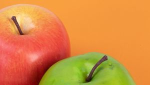 Preview wallpaper apple, fruit, red, ripe