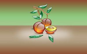 Preview wallpaper apricot, pits, form