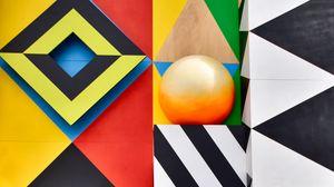 Preview wallpaper art, geometry, symmetry, colorful, pattern