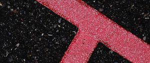 Preview wallpaper asphalt, lines, marking, texture