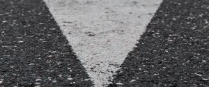 Preview wallpaper asphalt, marking, arrow, direction, road
