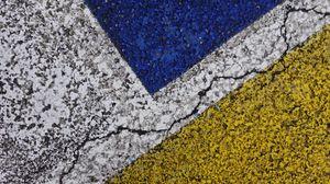 Preview wallpaper asphalt, paint, cranny, texture, surface