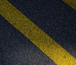 Preview wallpaper asphalt, stripes, surface