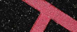 Preview wallpaper asphalt, texture, lines, marking