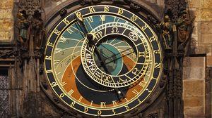 Preview wallpaper astronomy, prague, watches, czech republic