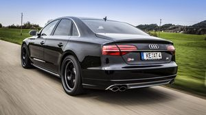 Preview wallpaper audi, s8, abt sportsline, abt, tuning