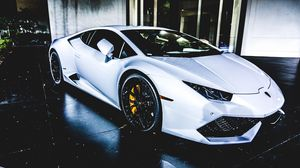 Preview wallpaper auto, side view, sports car, white