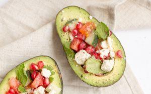 Preview wallpaper avocado, fruit, snack