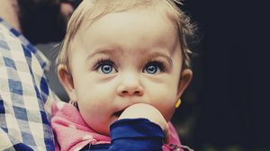 Preview wallpaper baby, child, face, cute
