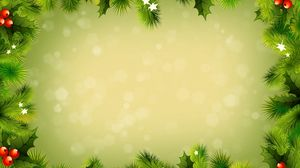 Preview wallpaper background, new year, branches