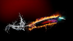 Preview wallpaper background, shiny, burst, colorful, figure
