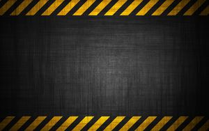 Preview wallpaper background, tapes, radiation, hazard, wall