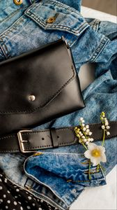Preview wallpaper bag, clothes, flowers, accessories
