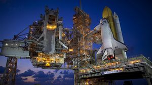 Preview wallpaper baikonur, shuttle, rocket