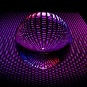 Preview wallpaper ball, sphere, circles, shape
