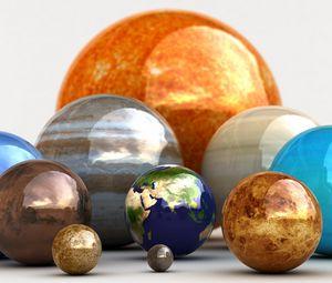 Preview wallpaper balls, handicap, diversity, multi-colored, shiny, glass