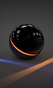 Preview wallpaper balls, light, glass, neon