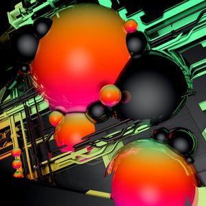 Preview wallpaper balls, volume, shape, glossy