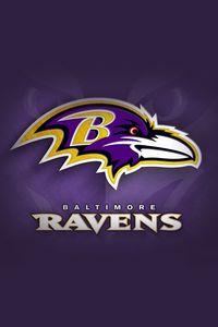Preview wallpaper baltimore ravens, american football, logo