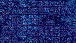 Preview wallpaper barcelona, inscription, letters, neon, glow