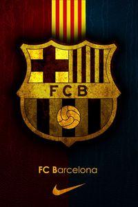 Preview wallpaper barcelona, spain, football club, sports, logo