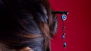 Preview wallpaper barrette, head, hair, jewelry