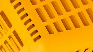 Preview wallpaper basket, plastic, surface, yellow