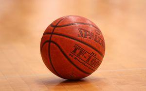 Preview wallpaper basketball ball, ball, lines, basketball, sport
