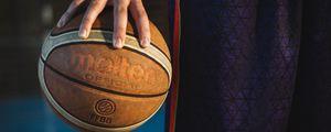 Preview wallpaper basketball, ball, sport